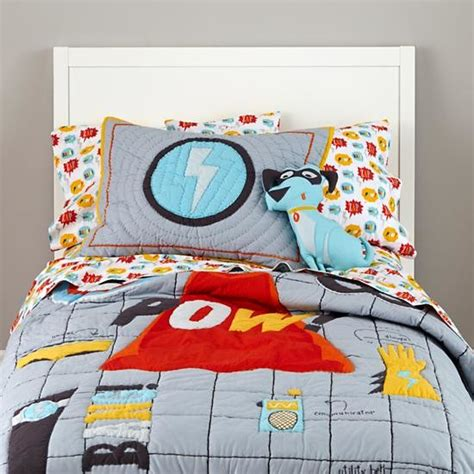 superhero bedding eclectic kids bedding by the land