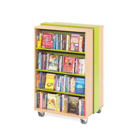 Mobile Bookcase  Mobile Library Shelving Children's