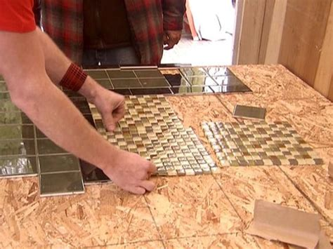 mosaic kitchen table top create a mosaic tile tabletop hgtv