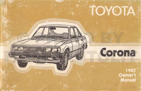 toyota corona body repair shop manual original