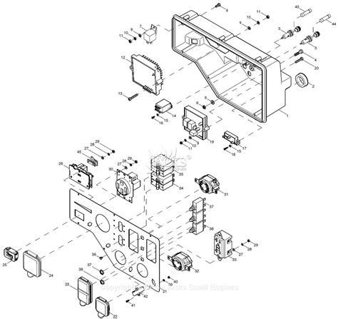 Generac Xge Parts Diagram For Control Panel