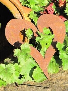 Gartendeko Zum Hängen by Herz Offen Aus Edelrost Zum Aufh 228 Ngen Garden Dekoshop