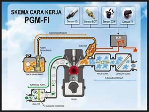 Sistem Kerja Dan Komponen Pgmfi Motor Honda