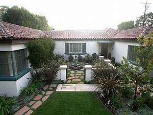 Small, Spanish, Style, Homes, Spanish, Style, Homes, With, Courtyards, Spanish, Style, House, With