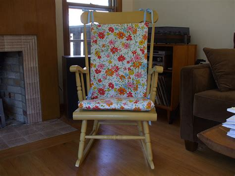 rocking chair cushion patterns plans diy free
