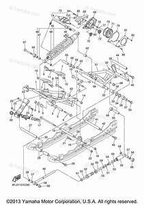 Yamaha Snowmobile 2006 Oem Parts Diagram For Track
