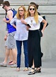 Amber Heard keeps it chic as she sightsees in NY with mother Paige Parsons   Daily Mail Online