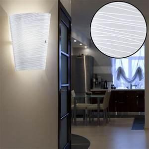 Lampen Für Den Flur : rgb led wandlampe aus satiniertem glas f r den flur caprice unsichtbar lampen m bel ~ Frokenaadalensverden.com Haus und Dekorationen