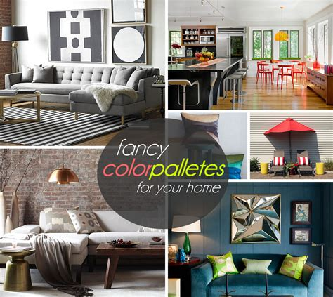 Color Palettes For Home Interior - three stunning color palettes for your interior