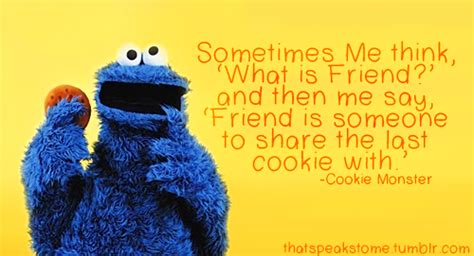 cookie monster quotes quotesgram