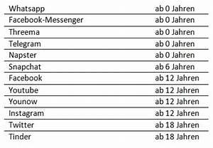 Apps Ab 18 Jahren : whatsapp ist ab 16 jahren oder ab null jahren je nachdem ~ Lizthompson.info Haus und Dekorationen