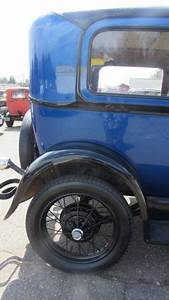 1929 Ford Model A 2 Door Tudor Driver New Paint Wiring Noreserve Rust Free Video For Sale