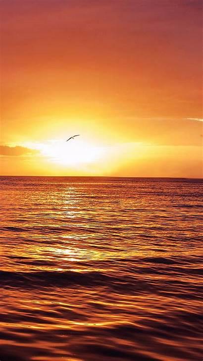 Ocean Galaxy Wallpapers S7 Sunset Sfondi Samsung