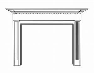 Quintin Natural Wood Mantels For Fireplaces