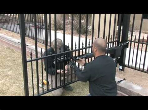automatic gate opener installation