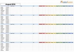 social media calendar template cyberuse With social media planning calendar template