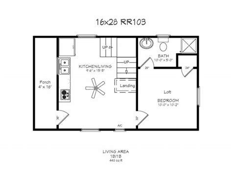 16x24 cabin floor plans windows 4 x 14 porch 190 bath