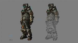 Dead Space 3 Armour And Weapons Concept Art Isaac Snow ...