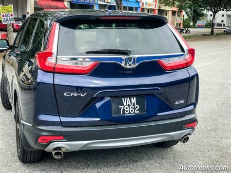 honda crv  malaysia price honda cars review release