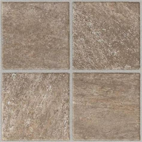 Home Depot Floor Tile Peel And Stick by Armstrong 12 In X 12 In Peel And Stick Quartz Ridge