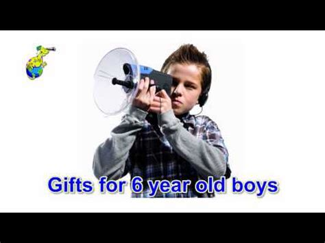 Gift Ideas For Six Year Old Boy