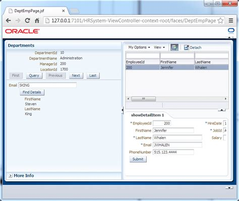 database security oracle jdeveloper 12c 12 1 2 tutorials developing rich