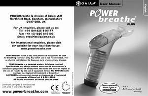 Powerbreathe Plus  User Manual By Fitnessdigital