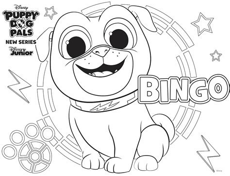 bingo coloring page family activity disney family