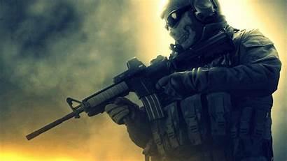 Soldier Wallpapers Skull Modern Masked Cod Warfare
