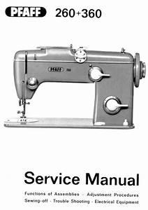 Pfaff Sewing Machine Instruction Manuals And Repair Manuals