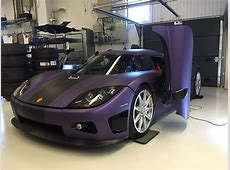 Koenigsegg's Tribute to Prince Is a CCXR Wrapped in Purple