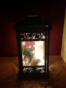 Laterne Dekorieren Lichterkette : esszimmer 39 essbereich 39 kleines landhaus zimmerschau ~ Watch28wear.com Haus und Dekorationen