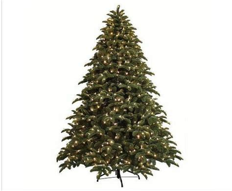 ge just cut norway spruce replacement bulbs ge 7 5 ft just cut noble fir ez artificial tree w 800 led pre lit ebay