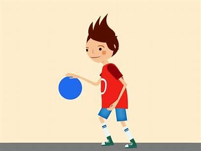Basketball Animated Player Boy Animation Shoot Icon