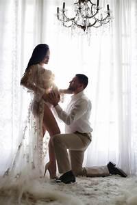 ideas de sesion de fotos de embarazo con tu pareja (2