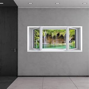 wallstickers folies window illusion wall stickers With window wall decal
