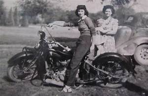 1930's Indian Motorcycle Mama Photograph by Donna Wilson