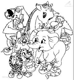 free coloring pages of animal pages