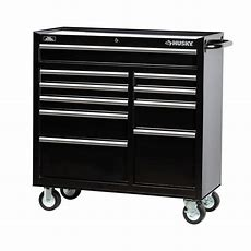 Husky 41 In 10drawer Tool Cabinet, Blackh4116tr  The