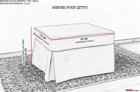 Pouf letto singolo sfoderabile Prezzi e vendita on line