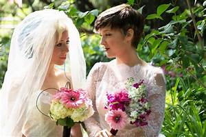 wedding dresses and suits same sex lesbian gay With lesbian wedding attire ideas
