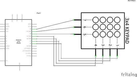 arduino   numeric keypad arduino learning