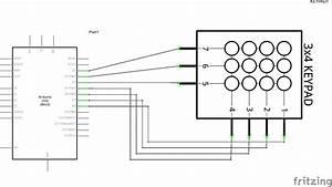 Arduino And A Numeric Keypad