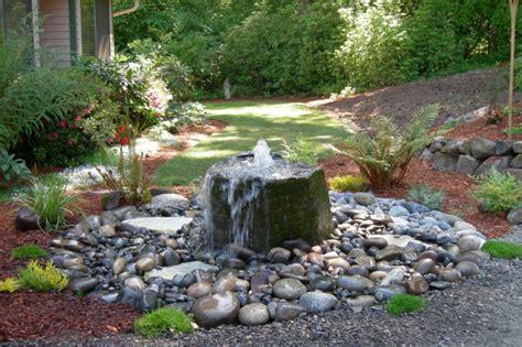 garten bepflanzen ideen wasserfall im garten selber bauen 99 ideen wie sie die harmonie der natur genie 223 en