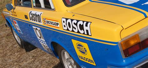 full historic rally racing liveries  sponsorship decals