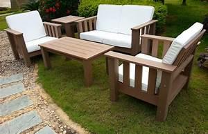 Fauteuil Jardin Bois : most view pict fauteuil et pouf de jardin en rotin lot de 2 ~ Teatrodelosmanantiales.com Idées de Décoration