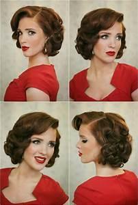 Coiffure Des Années 50 : coiffure cheveux courts ann es 50 ~ Melissatoandfro.com Idées de Décoration