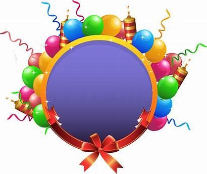 Transparent Birthday Circle Vector Party Balloon Clip