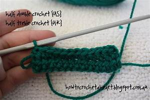 How To Crochet a Heart: {crochet basics} Half Double ...