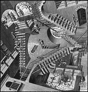 An Ocean Of Knowledge An Inch Deep  Mc Escher Jigsaw Puzzle And Origamic Architecture Reconstruction